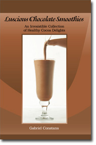 Lucsious Chocolate Smoothies, By Gabriel Constans